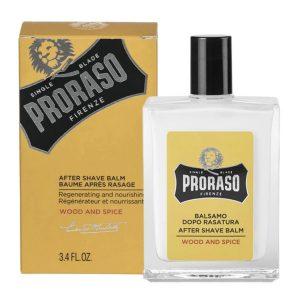 Dưỡng Da Sau Cạo Proraso Aftershave Balm Wood & Spice (Acohol Free)-3