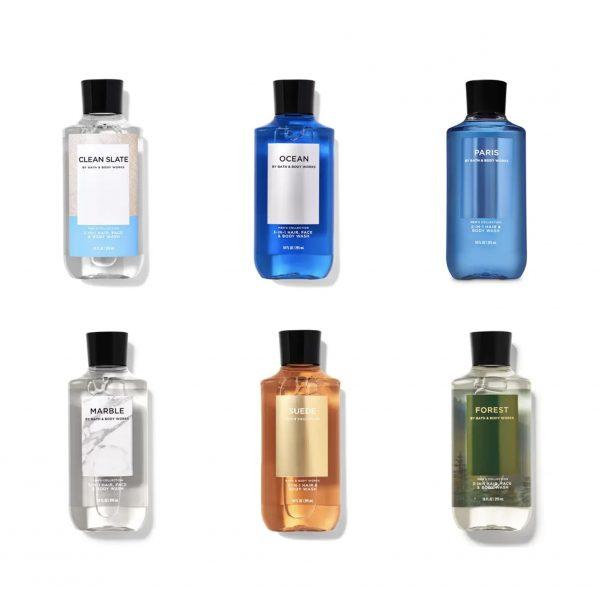 Sữa Tắm Bath & Body Works Men's Collection 295ml